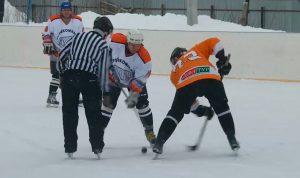 финальный хоккейный матч